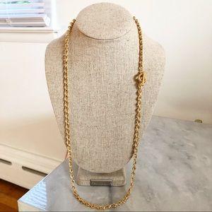 JCrew classic chain link necklace